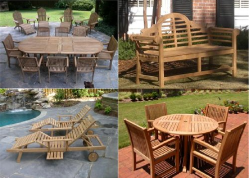 Patio Furniture by Atlanta Teak Furniture