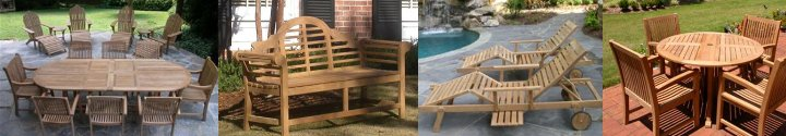 teak furniture products